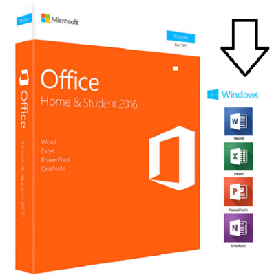 Microsoft Office 2016 Home and Student - MS office 2016