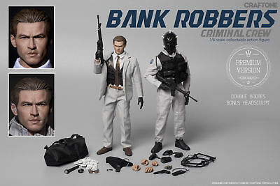 """Craftone 1/6 Scale """"Bank Robbers - Criminal Crew"""""""