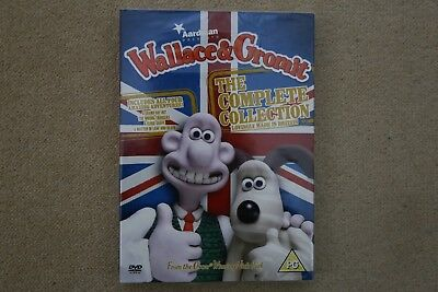 Wallace And Gromit The Complete Collection   Brand New Sealed Genuine Uk Dvd