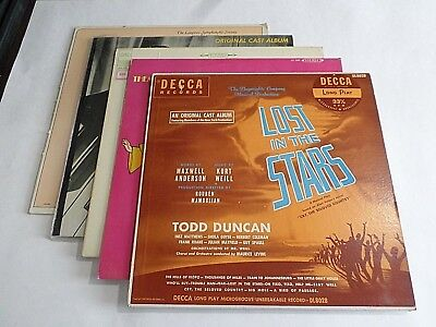 Lot Of 5 Soundtrack Oldies LP Wholesale Lost In The Stars Apple Vinyl Record