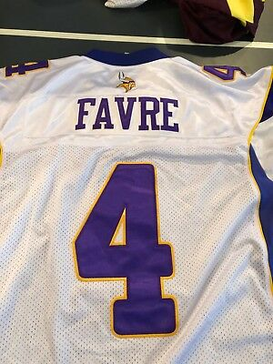 san francisco 7ed53 cd974 THROWBACK MINNESOTA VIKINGS BRETT FAVRE jersey men 3XL XXXL ...