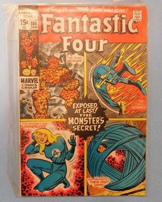 Marvel Comics Group Fantastic Four #106 9.0 VF/NM