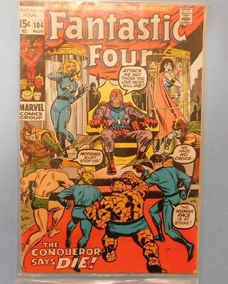 Fantastic Four #104 9.0 VF/NM