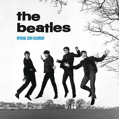 The Beatles NEW Official 2019 Calendar Square Wall Brand NEW 9781785495427