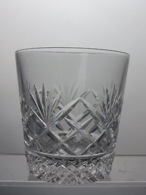 Crystal Cut Glass Tumbler
