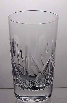 Beautiful Design Cut Glass Lead Crystal Tumbler
