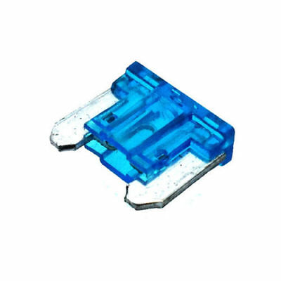 10x 15A AUTO MINI BLADE FUSE LOW PROFILE BLUE APS ATT UP TO 58V 192768 CARGO