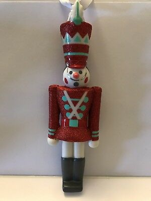 New 2018 Disney Parks it's a small world Toy Solider Porcelain Ornament