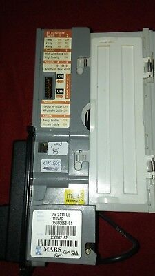 Working Mars ae2411 u5 Dollar Bill Validator DBA Flashport/ takes new $5s