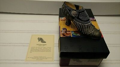 Just the Right Shoe-Parisian Nights-2001 Raine-With Box and COA