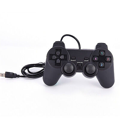 USB  PC Computer Wired Gamepad Game Controller Joystick BLBD