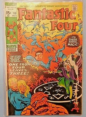 Fantastic Four #110 9.0 VF/NM