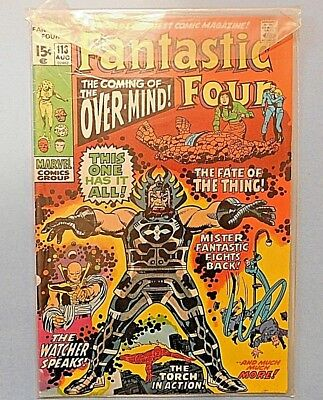 Fantastic Four #113 9.0 VF/NM