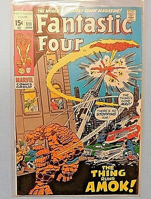 Fantastic Four #111 9.0 VF/NM
