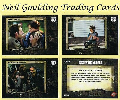The Walking Dead - ROAD TO ALEXANDRIA ☆ BETTER DAYS ☆ Inserts #BD-1 to #BD-10