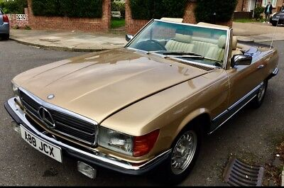 Mercedes 500SL 1983 two previous owner 94000 mls