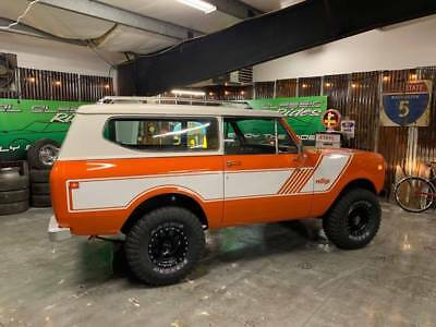 1975 International Scout II Scout International Scout II Orange with 82,935 Miles, for sale!