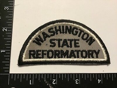Vintage WASHINGTON STATE REFORMATORY Corrections Officer Police Patch Rare WA