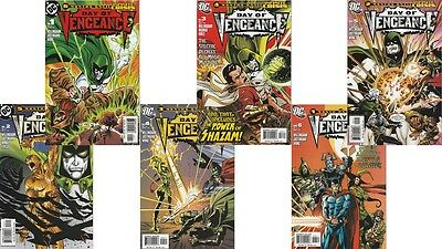 DAY OF VENGEANCE Spectre  #1-#6 Complete Set 2005 DC Comics - CLEARANCE
