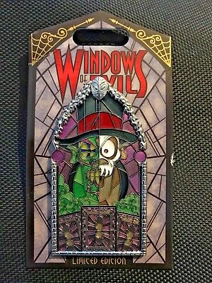 Disneyland Exclusive Windows Of Evil *Dr. Facilier* LE Pin
