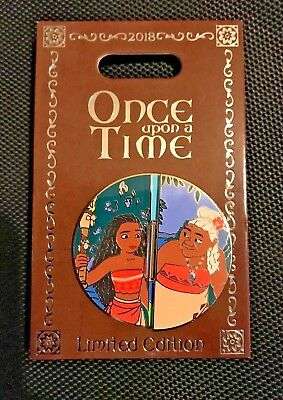 Disneyland Exclusive- Once Upon A Time *Moana* LE Pin