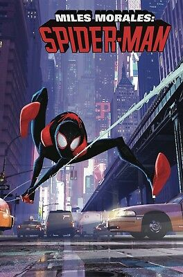 Miles Morales: Spider-Man #1 Variant 1:10 Animation Variant (Releases 12/12/18)