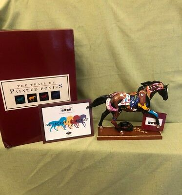Trail of Painted Ponies, Figurine, BOOT CAMP, 1E 5872, Retired