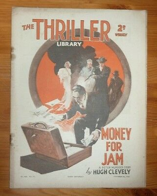 THE THRILLER No 453 Vol 17 9TH OCT 1937 WINGS OF ROMANCE BY CAPT W.E. JOHNS