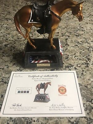 Trail Of Painted Ponies Figurine Fallen Heroes Memorial Pony #12212 2E/7145