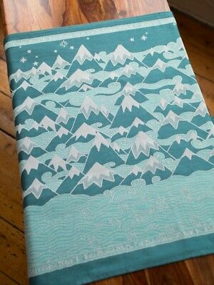 Oscha Slings Woven Wrap - Misty Mountains Este Size 6
