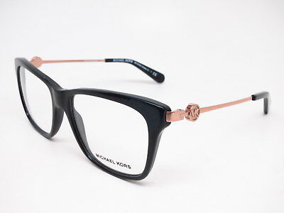 e332e13b83fe New Authentic Michael Kors MK 8022 Abela IV 3005 Black Eyeglasses 52mm  Rx-able