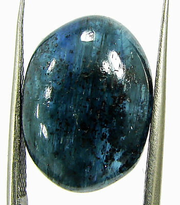 15.90 Ct Natural Blue Kyanite Loose Cabochon Gemstone Beautiful Stone - 17685