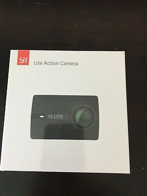 YI Lite Action Camera Sony Sensor 16MP Real 4K Sports 2-Inch Touchscreen NEW