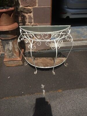 Vintage  Hall Stand . Metal . Shabby Chic Project