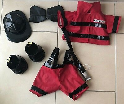 Build a Bear Feuerwehr Outfit