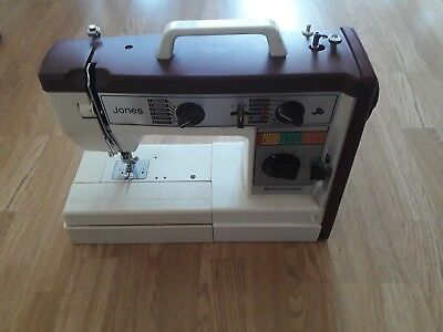 Jones Electric Sewing Machine buttonmatic