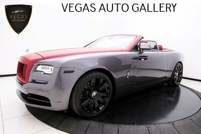 2017 Rolls-Royce Dawn  Black Trim, Signature & Interior Detailing Packages