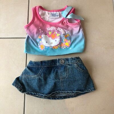 Build a Bear Hello Kitty Outfit / Kleid / Kleidung