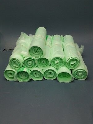 """Lot of 12 Rolls of Nature-Bag Compostable Trash Bags 64 Gal. 47"""" x 60"""" x 0.9mil"""