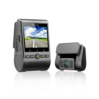 Viofo A129 Duo Dual Channel F1.6 140° Wi-Fi GPS Car Recorder Motion Detection AU