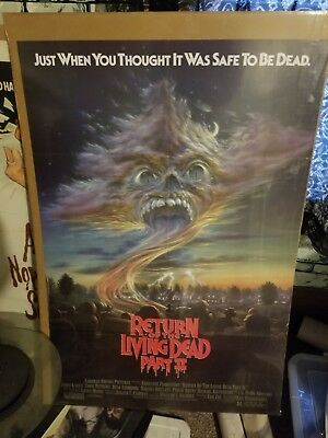 Return of the living dead 2 Movie Poster original 27x41