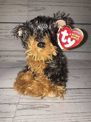 d1727eca979 Ty Beanie Baby Rare ~ TYGER the Yorkshire Yorkie Dog ~ MINT with TAGS 2008