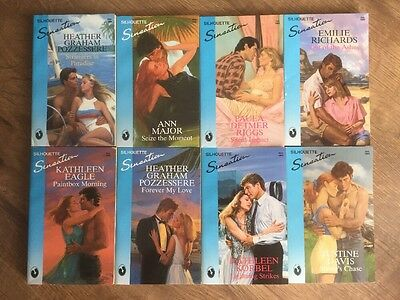 Job Lot Of 8 Silhouette Books SensatIon Like Mills And Boon