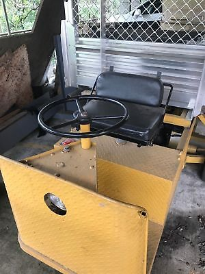9 inch diff ,Electric Buggy, Utility Tipper Tray. 3 wheeler , yard trailer tow