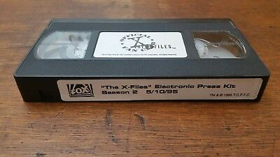 The X Files Electronic Press Kit Season 2 5/10/95 VHS Tape
