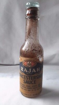 Great Atlantic & Pacific Co.  A &  P Rajah glass stopper bottle Vintage