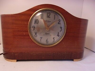 Vintage WORKING Electric Revere Mantel Clock Telechron Westminster Chime Clock