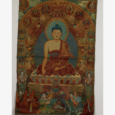 Tibet Collectable Silk Hand Painted Buddhism  Thangka RK007+a