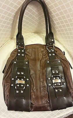 0f5a784027 Los Robles - Polo Time Argentinian Leather Handbag With Key Fob and Dust Bag.