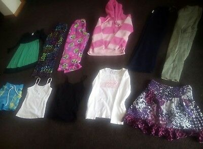 girls size 6 clothing bulk, pants, pjs , shorts, shirts and more